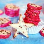 Cranberry noels, Christmas cookies
