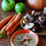 Creamy wild mushroom soup without all that heavy cream