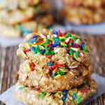 Banana oatmeal chocolate chip cookies recipe